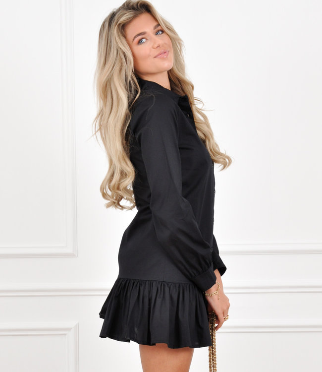 Jade blouse dress black