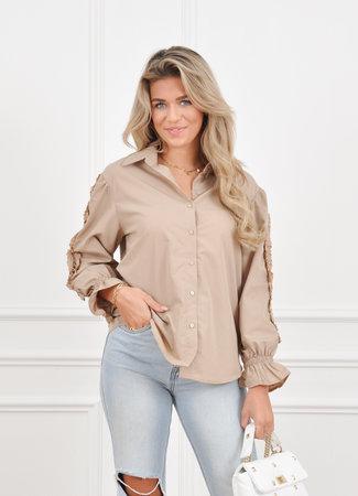 Leah blouse beige