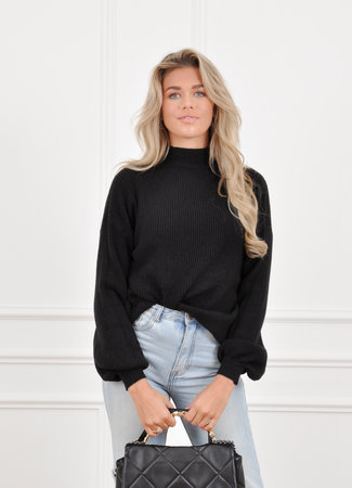 Lexie knit black