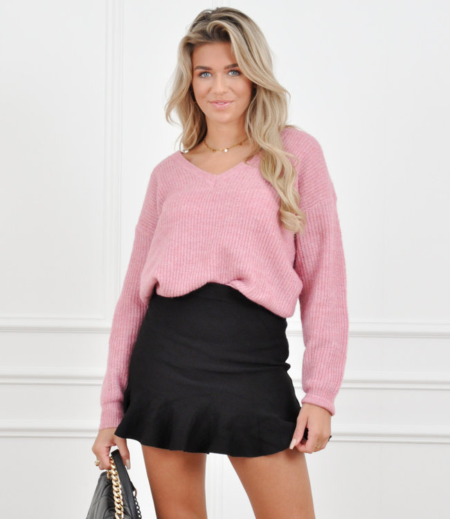 Loes knit pink