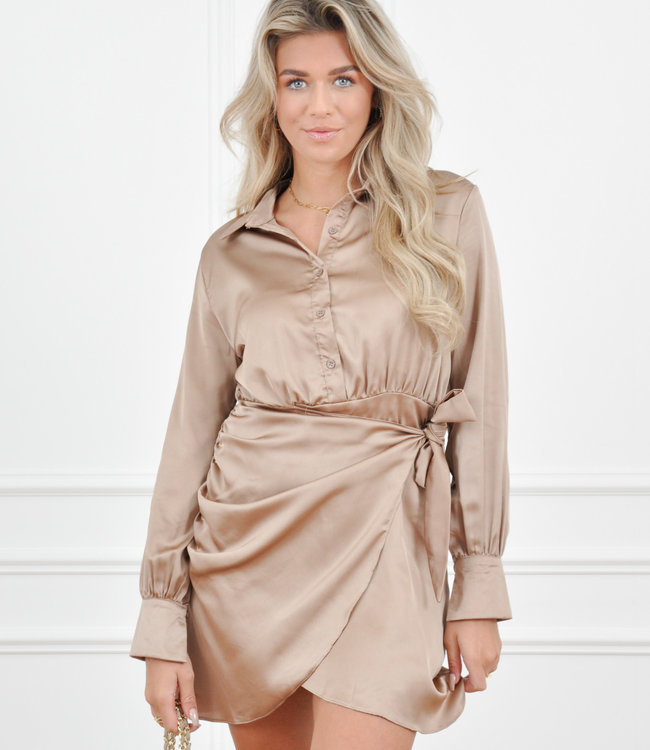 Lori dress camel