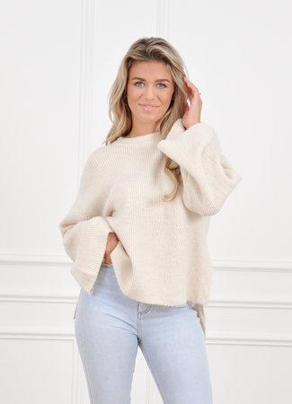 Mabel knit beige