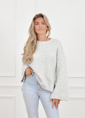 Mabel knit grey