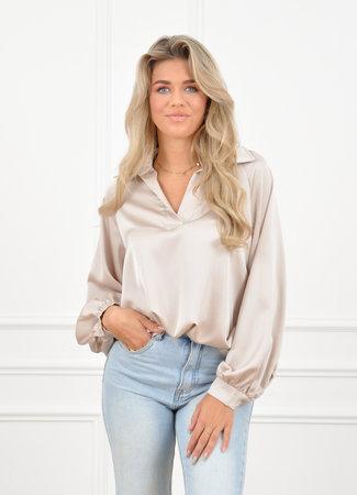 Mara blouse beige