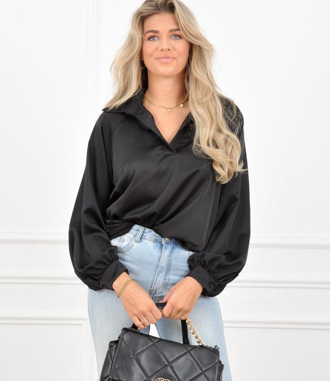 Mara blouse black