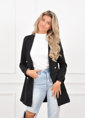 Olivia blazer black
