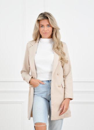 Olivia blazer beige