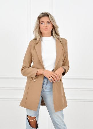 Olivia blazer camel