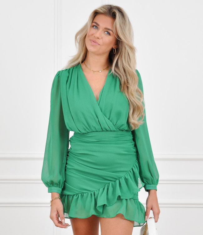 Olivia dress green