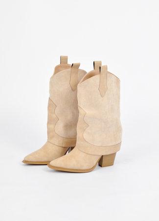 Marant boots beige