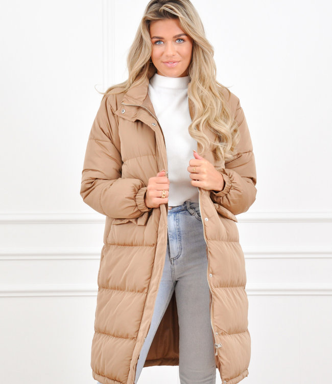 Yulia jacket camel