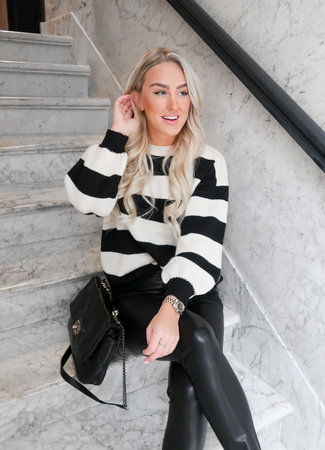 Nina knit black