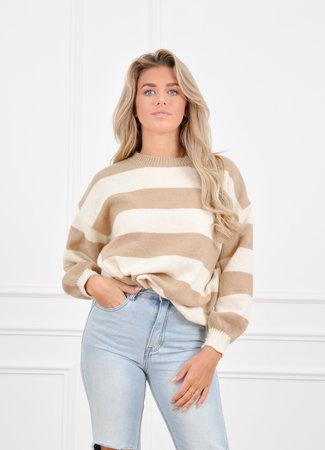 Nina knit beige