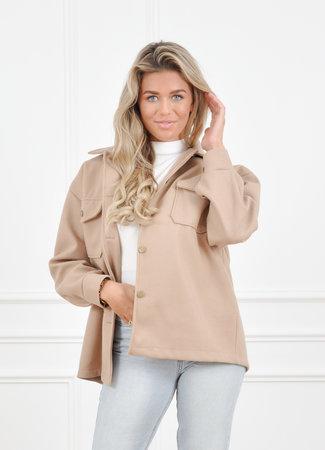 Lieve jacket camel