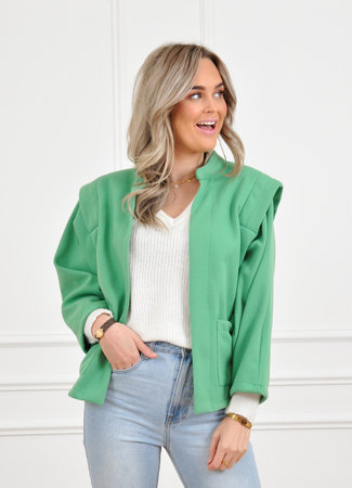 Camille jacket green