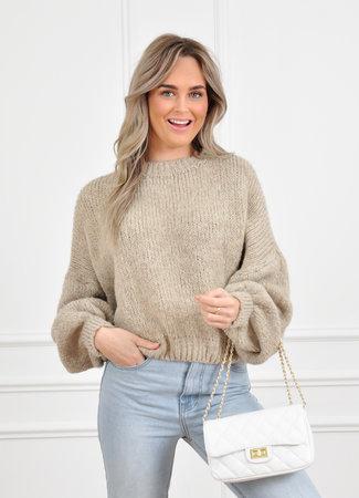 Elinde knit beige