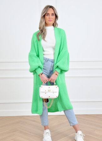 Femke vest green
