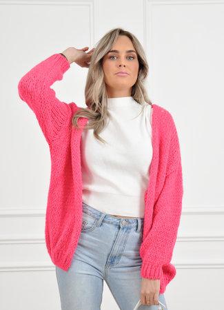 Jessie vest neon pink