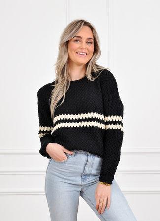Vina knit black