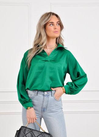Mara blouse green
