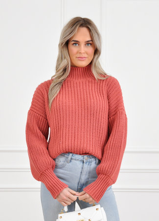 Jaylie knit roest