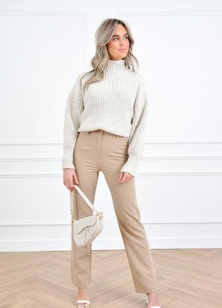 Jaylie knit beige