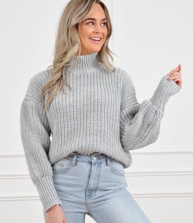 Jaylie knit grey