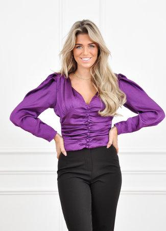 Fiona top purple