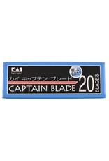 Kasho KAI Captain Razor Blades - 20 Stück