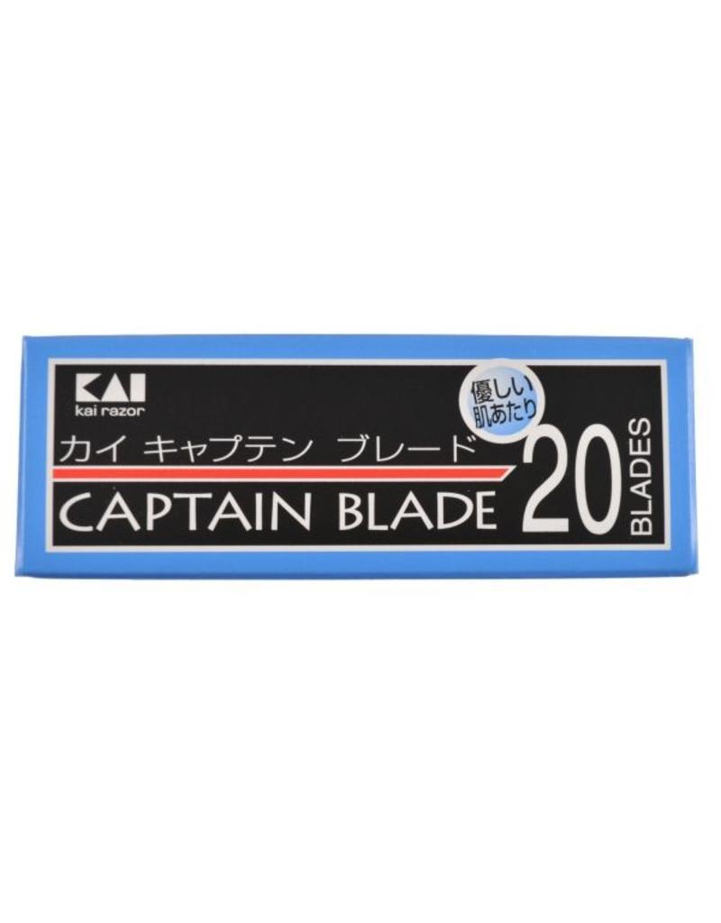 Kasho Made in Japan KAI Captain Razor Blades - 20 Stück