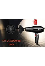 Kasho Made in Japan Fön Kasho KTI 2200W Turbo Ionic Japan Haartrockner schwarz""