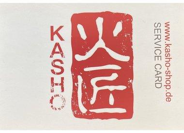 Kasho Service Card