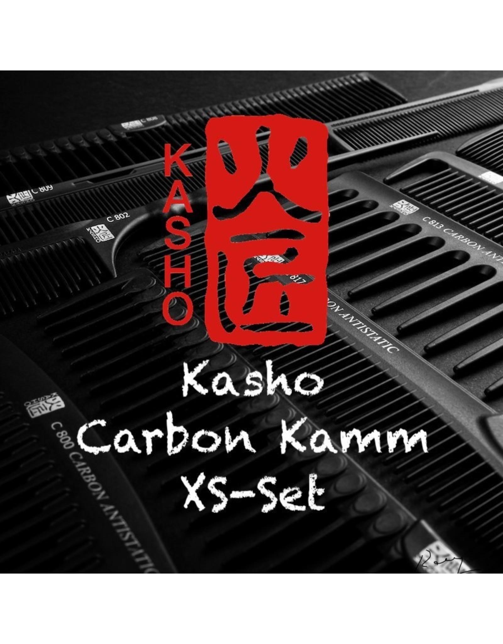 Kasho Made in Japan Kasho Carbon KammXS-Set vierteilig