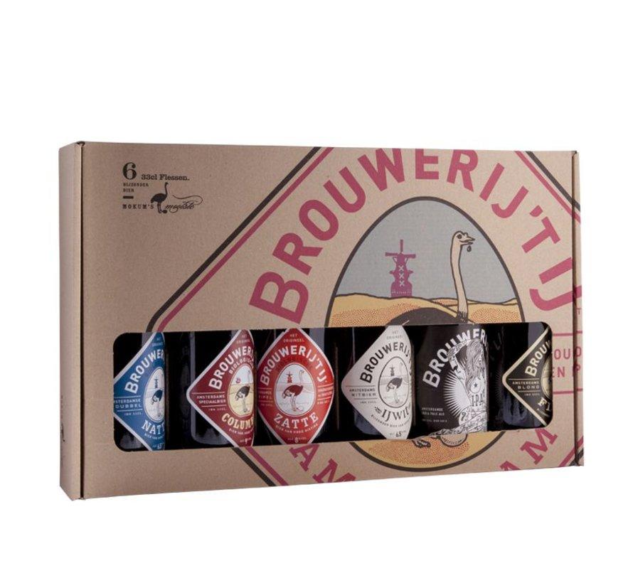 Brouwerij 'T IJ Cadeau 6-Pack