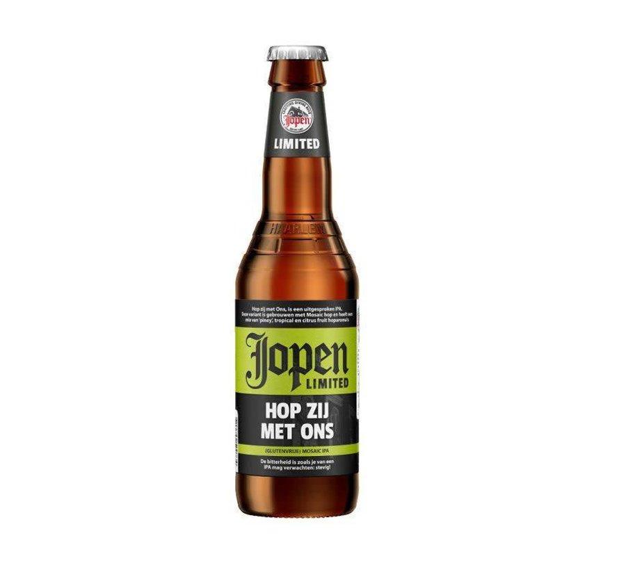Jopen Hop Zij Met Ons (Glutenvrij bier)
