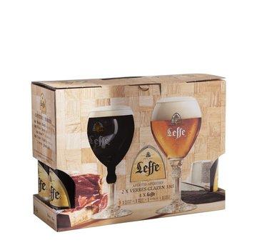 Leffe Leffe Speciaal Bier Cadeau 4 Fles + 2 Glazen