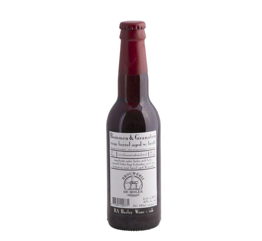 Brouwerij De Molen Bommen & Granaten Rioja Brett BA
