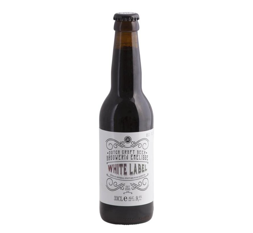 Emelisse White Label Imperial Russian Stout Old Smokey Bourbon Blend BA
