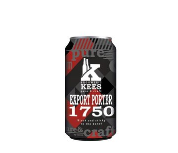 Brouwerij Kees Export Porter 1750 Blik