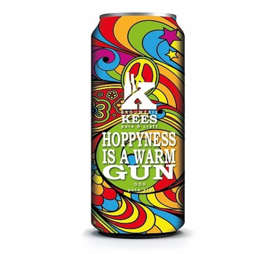 Brouwerij Kees Hoppyness Is a Warm Gun
