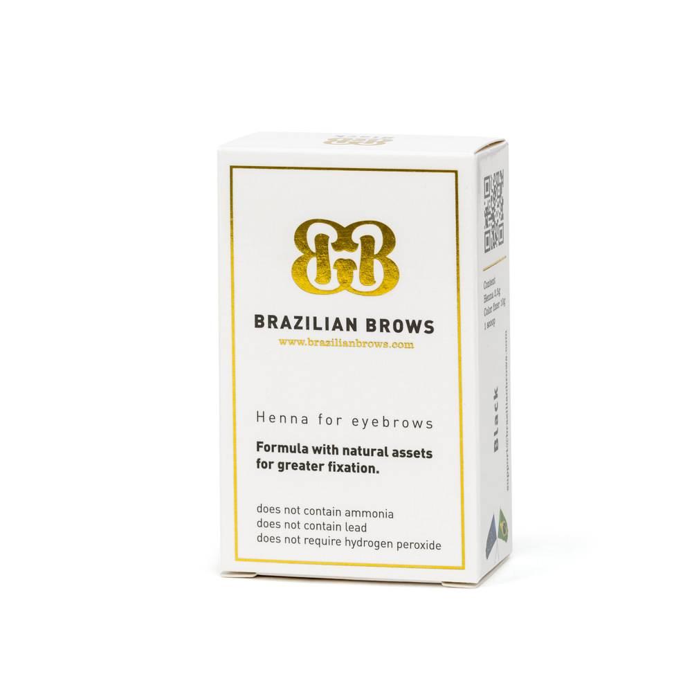 Brazilian Brow Brown Henna
