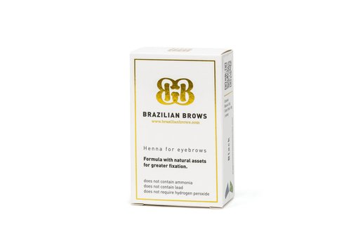 Brazilianbrows Henna medium kastanje