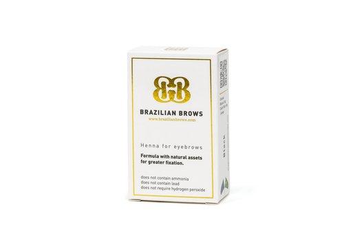 Brazilianbrows Henna mittelkastanienbraun