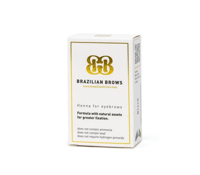 Brazilian Brows -  kastanje medium