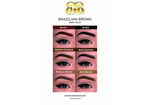 Brazilianbrows Poster A1 Brazilian Brows (3 pièces)