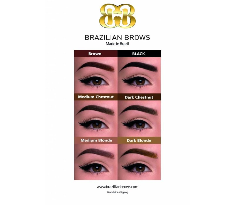 Poster A1 Brazilian Brows