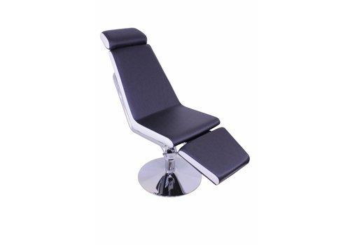 Brazilianbrows Behandelstoel Beleza zwart-wit