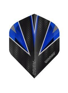 Winmau Prism Alpha Flights Zwart Blauw