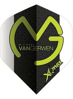 XQ-Max MVG Flight Black White Green Logo