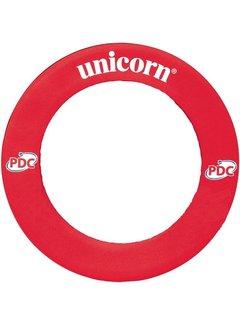 Unicorn STRIKER DARTBOARD SURROUND RED PDC/UPL